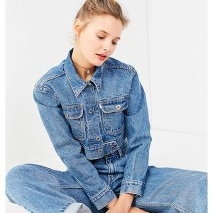 Levi's Jackets & Coats - Levi's Cropped Denim Jacket XS Urban Outfitters